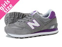 NEW BALANCE WL574CPG-new balance WL574CPG GREY/PURPLE