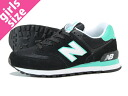 NEW BALANCE WL574CPR New Balance WL574CPR BLACK/MINT