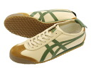 66 66 Onitsuka Tiger MEXICO Onitsuka tiger Mexico BEIGE/GLASS GREEN