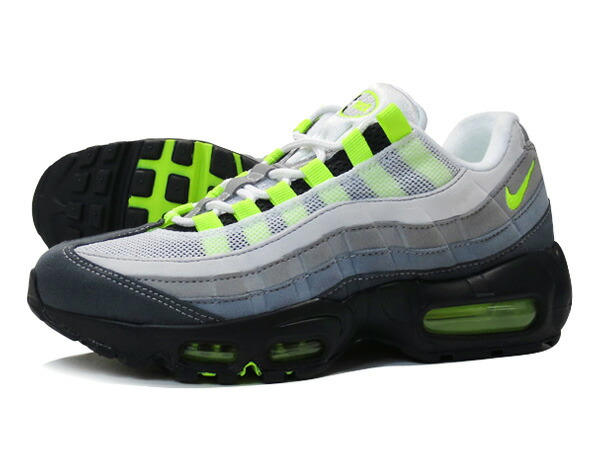NIKE WMNS AIR MAX 95 BLACK/VOLT/GREY