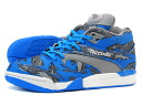 Reebok COURT VICTORY PUMP Reebok court victory pump BLUE/GREY