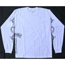 Chrome hearts long T-shirt V7F white long sleeves