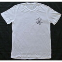 Chrome hearts short sleeve T shirt new V neck BS flare white shinsaku