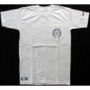 Chrome hearts short sleeves T-shirt white cross new work