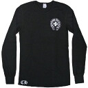 Chrome hearts unisex long T-shirt thermal black new work