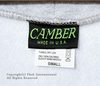 キャンバー/CAMBER ''クロスニット''アメリカ製12ozミドルウエイトジッパーフードパーカ【CROSS KNIT ZIPPER HOODED】[レビューで送料無料][あす楽対応]