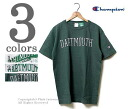 CHAMPION made in USA T1011 series 'DARTMOUTH' heavy weight print T shirt (C5-F302-DARTMOUTH)