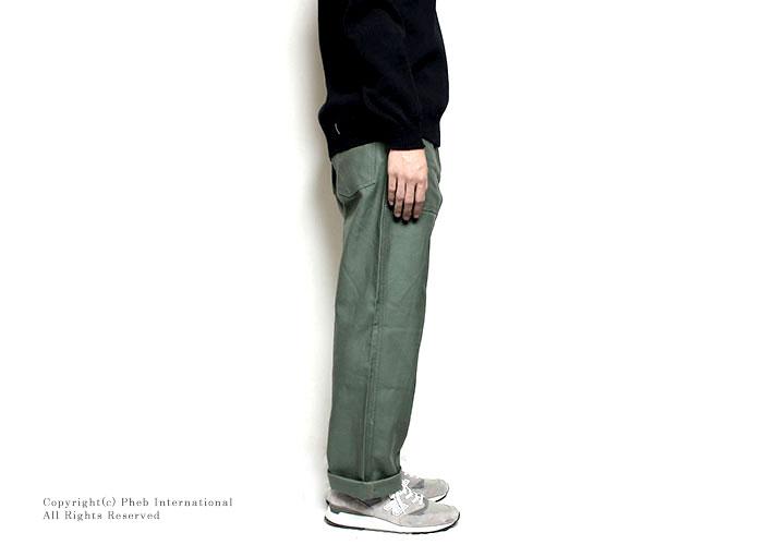 ガンホー/GUNG HO アメリカ製ベイカーパンツ/ユーティリティパンツ【GUNG-4PK FATIGUE】