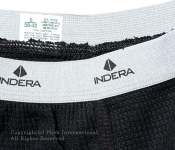インデラ ミルズ/INDERA MILLS 100%コットン6.5ozヘビーウェイトサーマルパンツ【839DR】[あす楽対応]