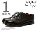 ジャランスリワヤ /JALAN SRIWIJAYA X フェブ /PHEB original order plane toe leather shoes