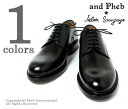 /JALAN SRIWIJAYA of Jalan スリワヤ × フェブ /PHEB original order plain toe leather shoes