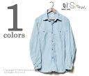 orSlow Made in Japan '' bleach' ' work shambles t-shirts (01 - 8070 - 99-BLEACH)