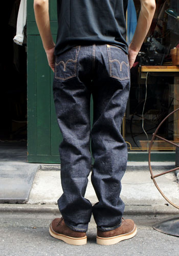 Fellowes /PHERROW'S(PHERROWS) original straight jeans [421: スターチドウォッシュ (one wash)] [free shipping]