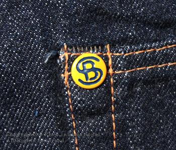 Fellowes /PHERROW'S(PHERROWS) straight jeans [521SW( スターチドウォッシュ / one wash] 】 [free shipping]