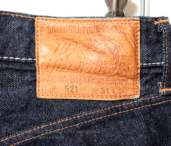 Fellowes /PHERROW'S(PHERROWS) straight jeans [521SW( スターチドウォッシュ / one wash] 】 [free shipping]