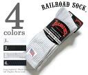 Railroad sock /RAILROAD SOCK made in USA men's 3 P flutereakshionfoot socks / socks
