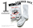 Railroad sock /RAILROAD SOCK made in the USA 'sweat shirt grey' men's 6 P crew socks / socks