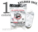 Railroad sock /RAILROAD SOCK made in the USA '' 6 P NO SHOW' ' no-show socks / socks (MEN's 6 PAIR NO SHOW-GREY HEEL &TOE (6066))
