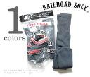 Railroad sock /RAILROAD SOCK made in the USA '' 6 P TUBE DARK GRY' ' tube socks / socks (MEN's 6 PAIR TUBE-DARK GREY (6076))