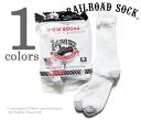 Railroad sock /RAILROAD SOCK made in the USA '' 6 P CREW HEEL TOE GRY' ' crew socks / socks (MEN's 6 PAIR CREW-GREY HEEL &TOE (6090))