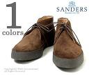 '' スナッフ (brown) made in the Sanders /SANDERS U.K. '' high-top chukka boots プレイボーイチャッカ