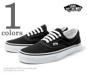 Vans & light van /VANS '' Ella black /ERA BLACK' ' overseas planning model sneakers