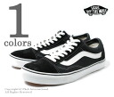 Vans and minibuses /VANS '' old school black' ' overseas planning model sneakers