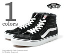 Vans and minibuses /VANS ' ' スケートハイ black /SK8 HI BLACK ' ' overseas limited edition sneakers