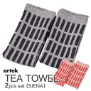 Class two pieces of Artek kitchen towels (SIENA) / Al technical center fs3gm