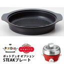 recolte STEAK plate (ポットデュオ optional parts) and rekord fs3gm