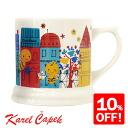 Tea town /karelcapek [10]fs3gm of Karel Capek UK マグバジー
