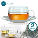 JENAER GLAS Tea Cup & saucer (Pack of Chi x 2) / イエナグラス fs3gm