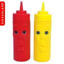 Kikkerland Max & Morris ketchup & mustard/キッカーランド fs3gm