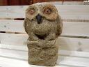 石头雕塑石材雕塑猫头鹰