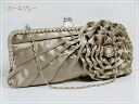★ 3-Way large rhinestone & flower pattern motif party bag ★ mother's day / spring / ethnic / women's /.