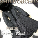 Long down coat [big size XXL/ ethnic / fall and winter] with the food & highest grade luxurious Fox fur & belt
