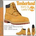 Timberland Timberland 6 inch premium boots 12909 6Inch Premium Boot waterproof junior kids child ladies