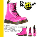 Dr. Martens Dr.Martens 1460 WOMENS 8 hole boots R11821670 MATERIAL UPDATES patent leather Womens mens 8 EYE BOOTS