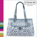 Coach COACH Tote pool Penelope signature satin carryall women's