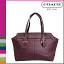 SOLD OUT coach carryall women's Alexis, leather Taylor Bordeaux COACH tote bag [F25205] [regular outlet] [12 / 4 new in stock]