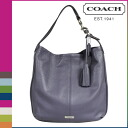 Point double coach COACH Lady's tote bag F23309 slate Abe Lee leather Ho baud [7/14 reentry load] [regular outlet]