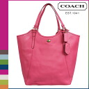 Coach COACH Lady's tote bag F26103 ポメグラネイトペイトンレザートート [9/19 Shinnyu load] [regular outlet]★★