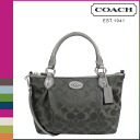 Point 2 x coach COACH Womens 2WAY Tote F33416 gray Colette signature mini fashion satchel [10 / 28 new in stock] regular outlet ★ ★ 02P01Nov14