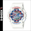 Casio CASIO g-shock watches WHITE TRICOLOR SERIES mens Womens 2015 spring summer new GA-110TR-7AJF white unisex [5 / 21 new stock] [regular] ★ ★