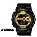 Point 10 x Casio g-shock CASIO watch GD-100GB-1JF Black x Gold Series men's women's