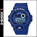 Point 10 x Casio CASIO g-shock watch HEATHERED COLOR SERIES mens Womens 2015 spring summer new GD-X6900HT-2JF blue unisex [3 / 25 new in stock] [regular]