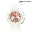 Casio CASIO g-shock mini ladies watch men's GMN-500-7B2JR White x pink [11 / 10 new in stock] [regular] ★ ★