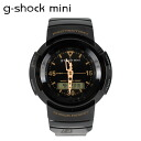 Casio CASIO g-shock mini ladies watch men's GMN-500G-1BJR black x Gold [1 / 28 new in stock] [regular] ★ ★