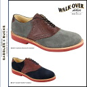 Walk-over WALK OVER saddle shoes W32112 W32113 SADDLE OXFORD mens suede