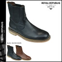 Royal Republic ROYAL REPUBLIQ Tadic dandy hideunn Chelsea boots TEDIQ DANDY HIDDEN CHELSEA BOOT leather mens 114391-125 2 color [1 / 6 new in stock] [exclude] ★ ★